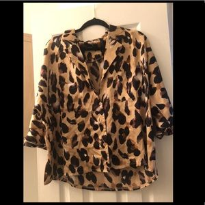 NASTY GAL CHEETAH BLOUSe